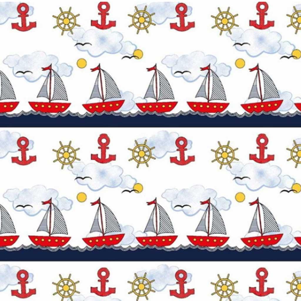 Tricoline Barco á Vela