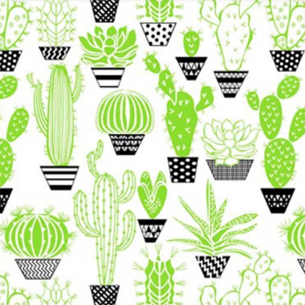 Tricoline Cactos Verde