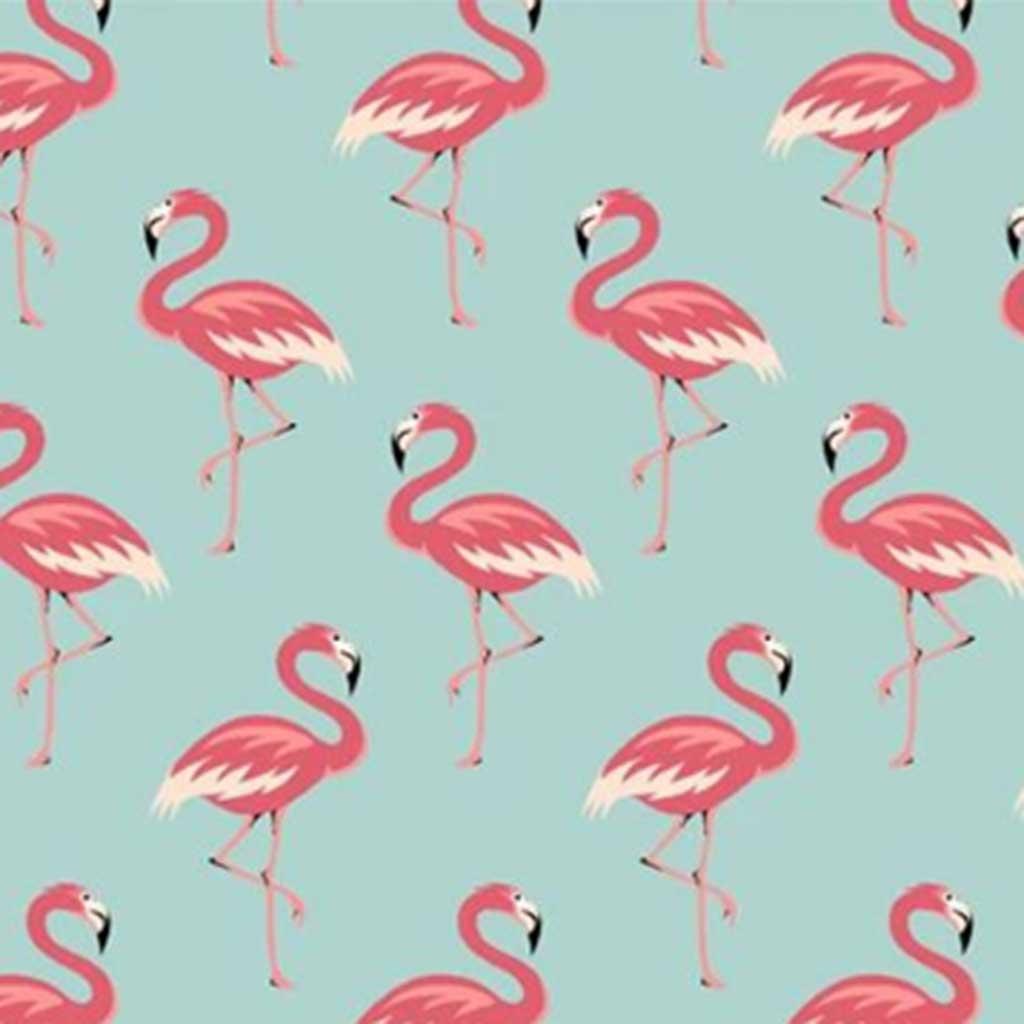 Tricoline Flamingo Azul