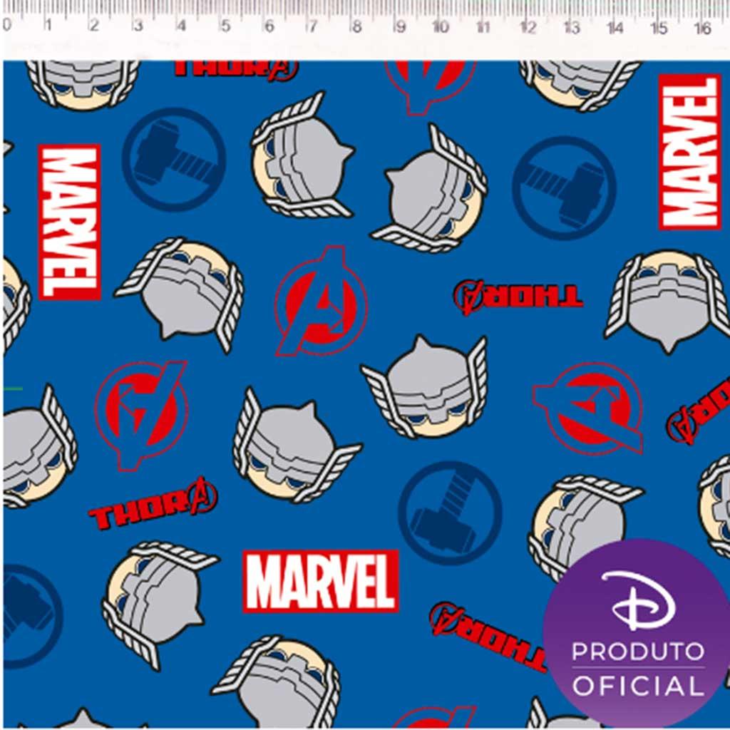 Tricoline Marvel Thor Azul