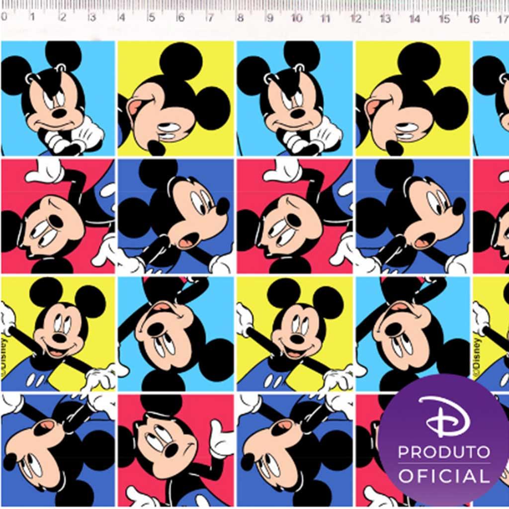 Tricoline Mickey Faces