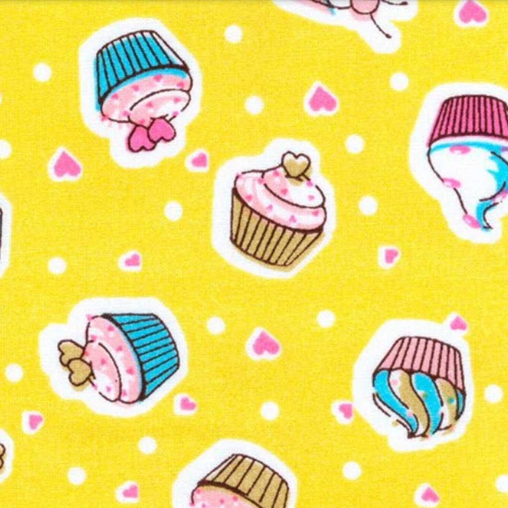 Tricoline Novo Cake 01 Amarelo