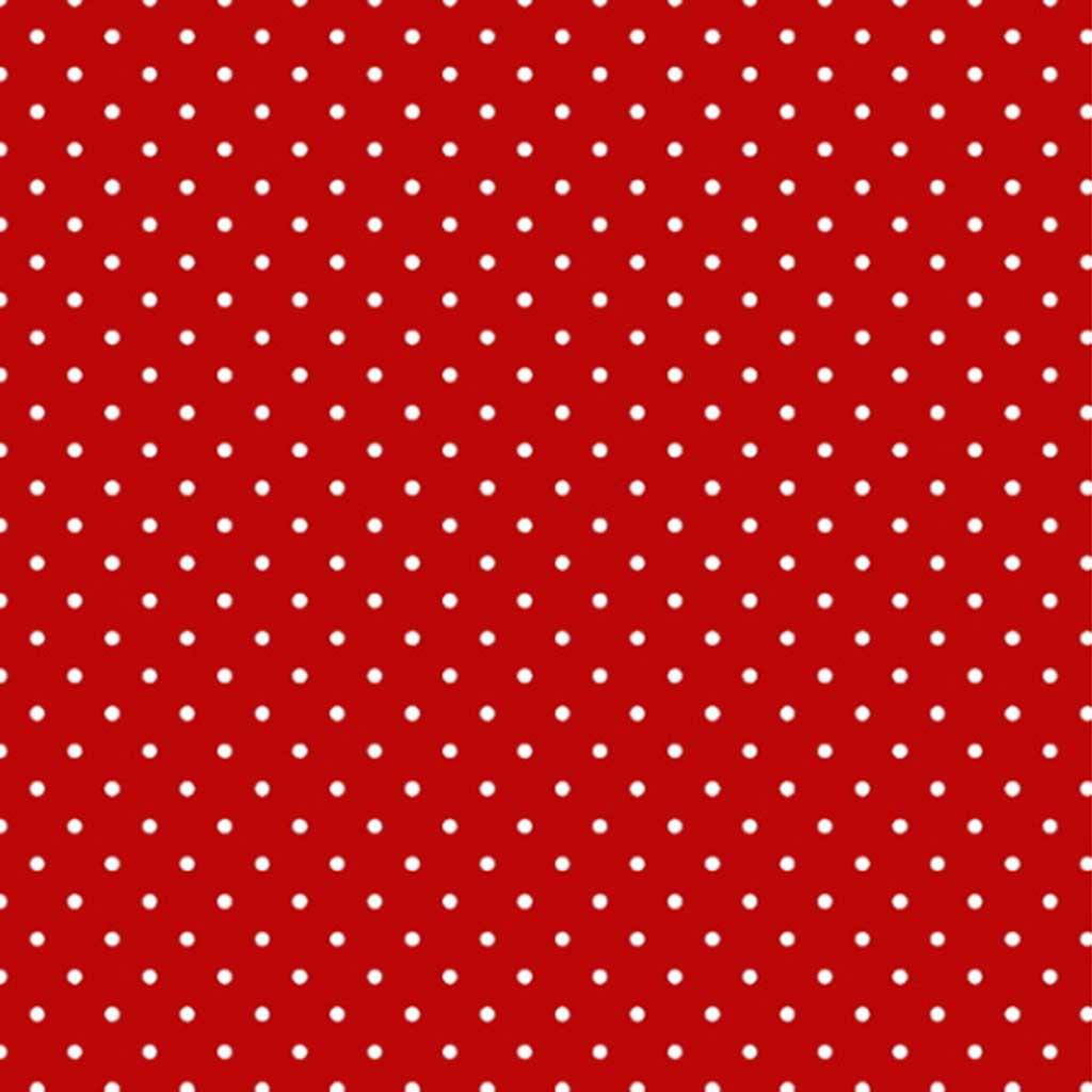 Tricoline Mini Poa Vermelho