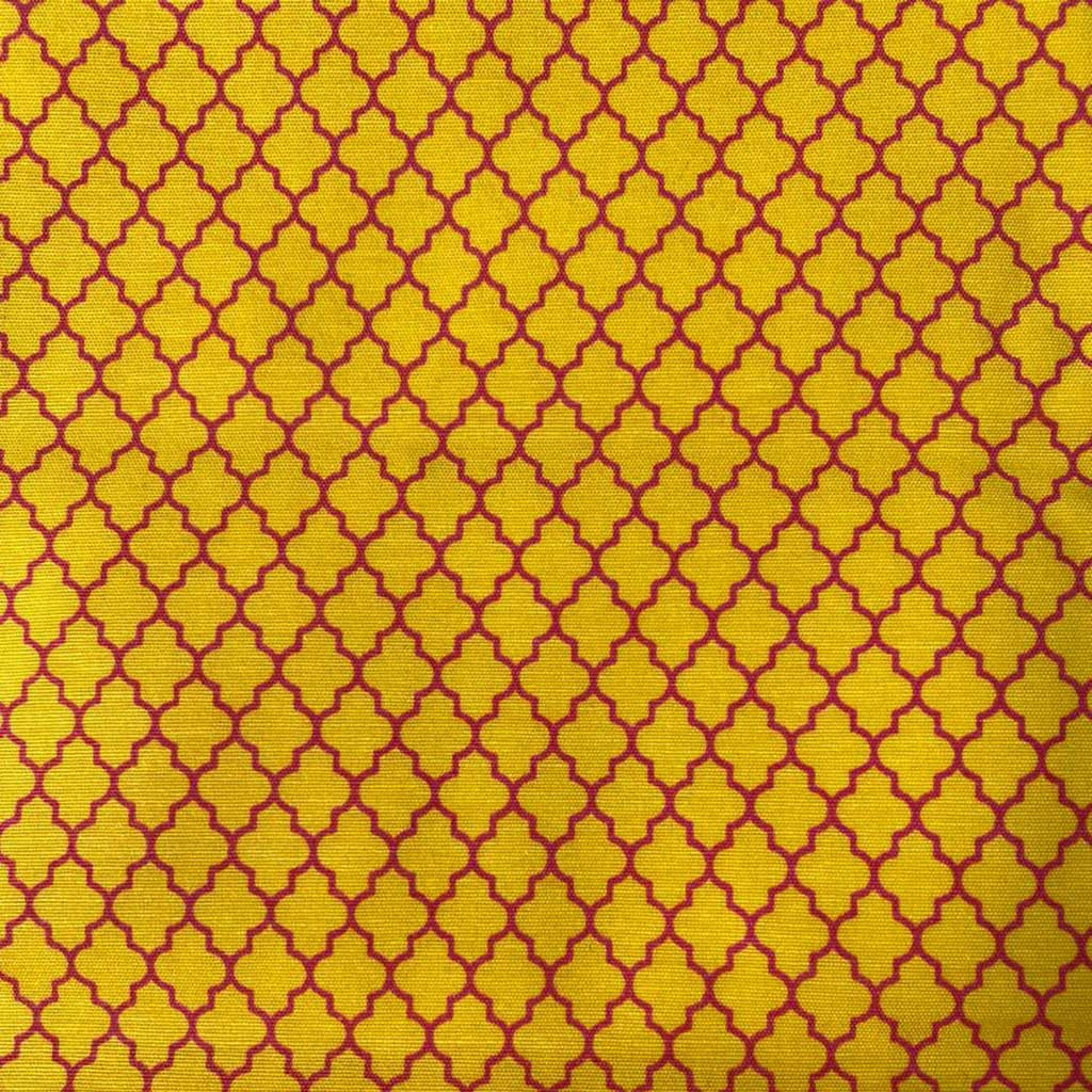 Tricoline Pop Amarelo