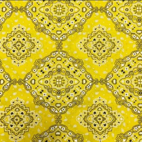 Tricoline Bandana Amarelo