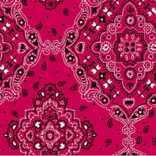 Tricoline Bandana Pink