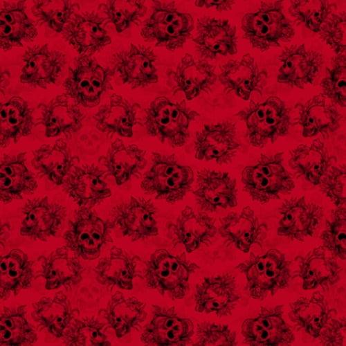 Tricoline Caveira Vermelha