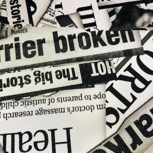 Corano Estampado  Jornal