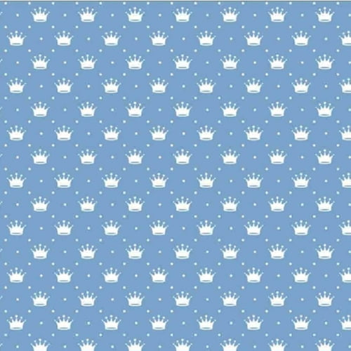 Tricoline Coroinha Azul Claro