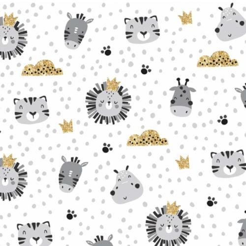 Tricoline Girafa Leão Glitter