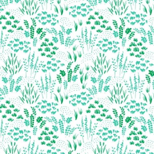 Tricoline Hera Branco Verde