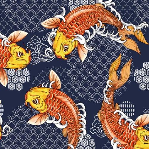 Corano Estampado Koy Fish