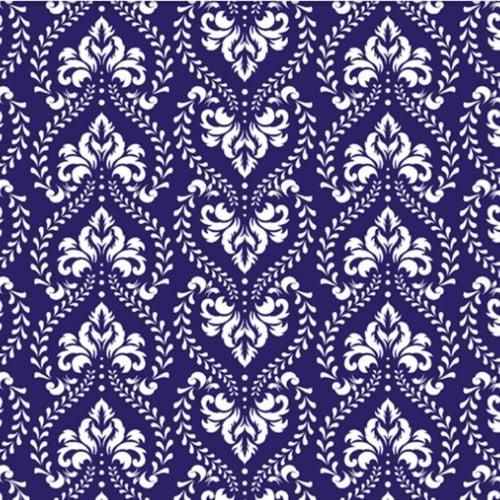 Tricoline Luxuria Azul Royal