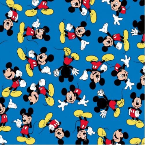 Tricoline Mickey Mouse F Azul