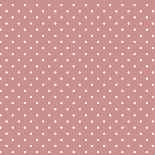 Tricoline Mini Poa Rosa Antigo