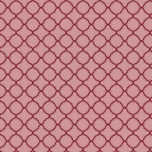 Tricoline Octagono Novo Rosa Antigo