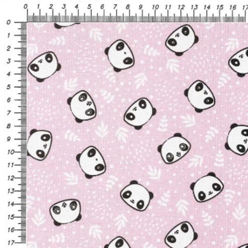 Tricoline Panda Baby Rosa