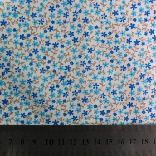 Tricoline Botânico Azul